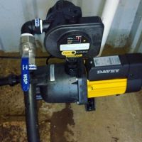 Household pressure pump